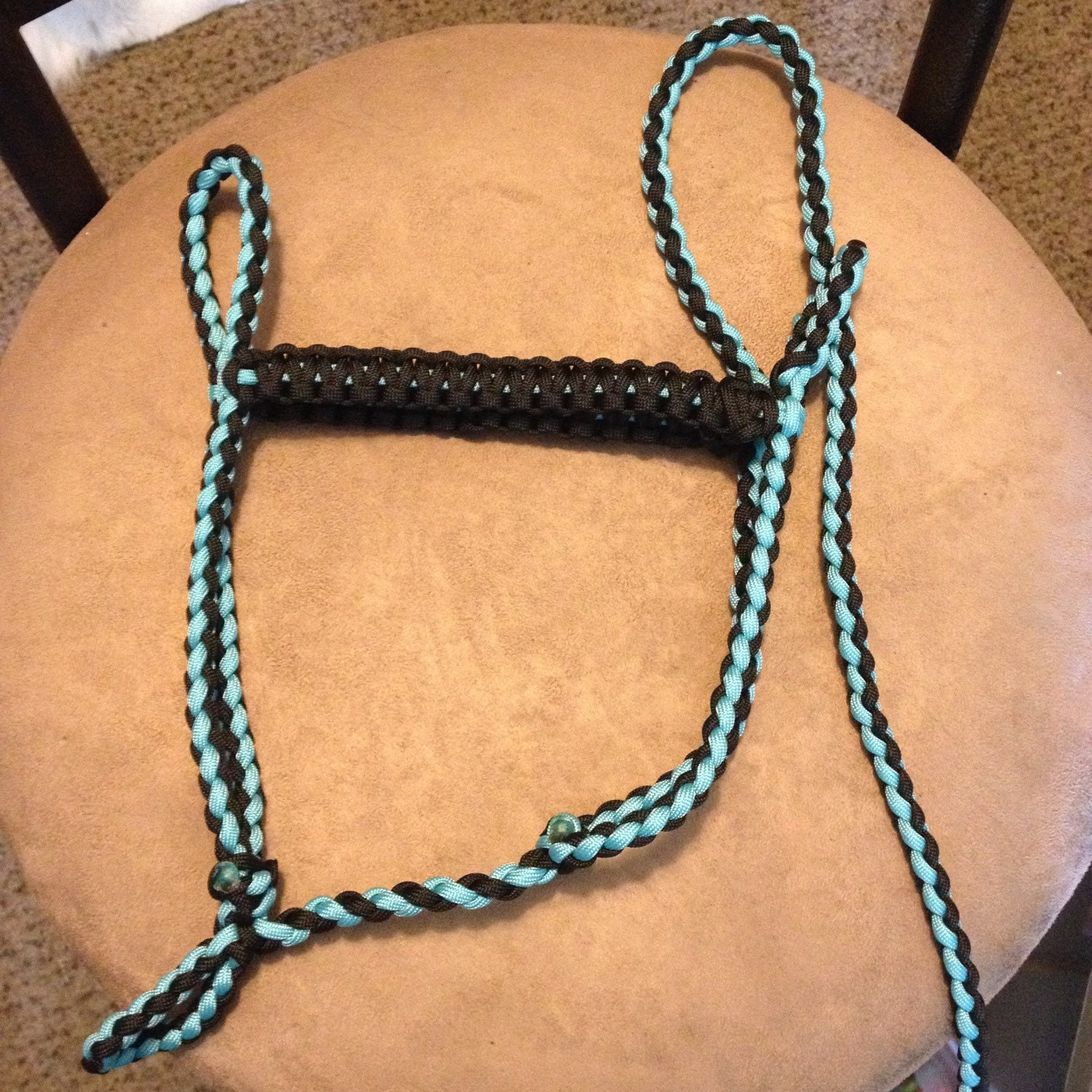 premade mini horse halters paracord horse halter by