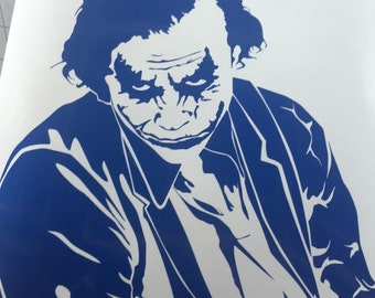 Joker decal