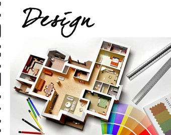 floorplan | etsy de, Innenarchitektur ideen