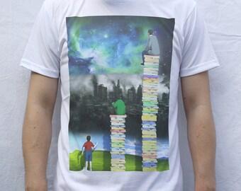 Read Books T Shirt Artwork