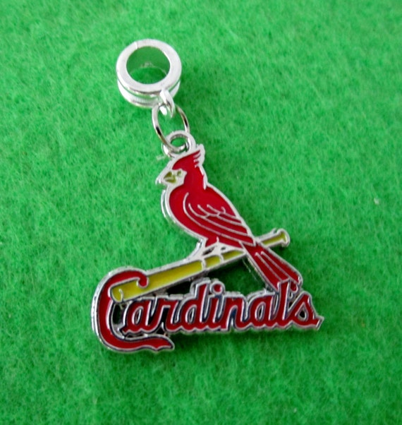 Pandora Jewelry St Louis: ST. LOUIS CARDINALS European Charm For By CollegeProJewelry