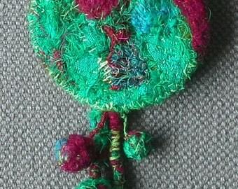 Textile pin
