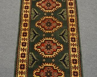 Nice Afghan Turkman hand knotted rug