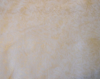 Fairy Frost metallic white shimmer fabric SNOW - Michael Miller quilting fabric