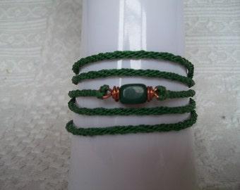 SALE - S - 196 Wrap-around bracelet