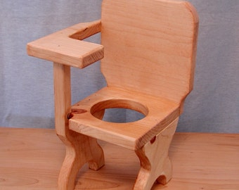 Desk Chair with Flower Pot