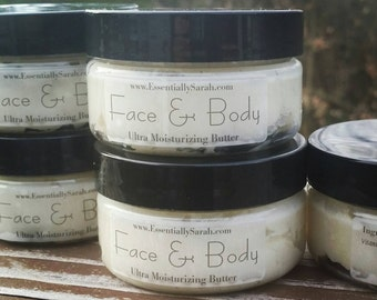 Face and Body Butter, Simply Natural
