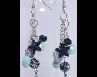 "Fun ""Seeing Stars"" Dangling Earrings"