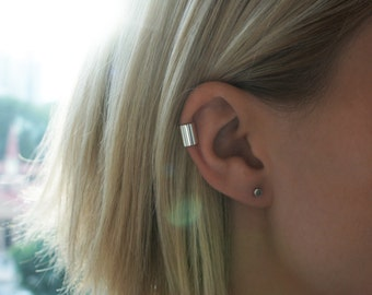 8.5mm Silver Ear Cuff / Australian Made Sterling Silver Ear Cuff