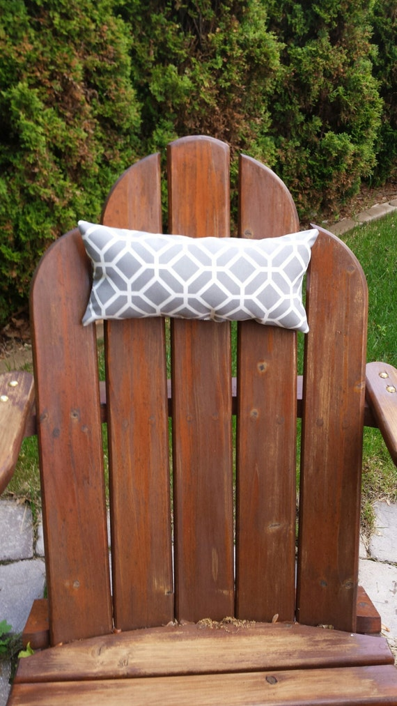 Project Working Organizer Adirondack Chair Head Pillows