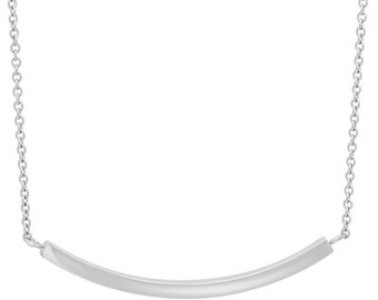 Stainless Steel Engraveable Bar Necklace