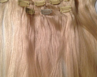 Synthetic Clip-In Hair Extension 16 inches- basic grade