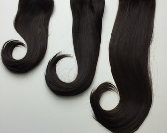 Clip-In Hair Extension Straight- high quality synthetic fibers