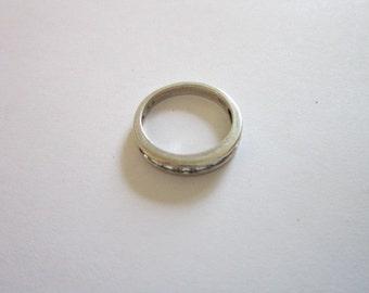 Vintage Sterling Silver Cubist RING