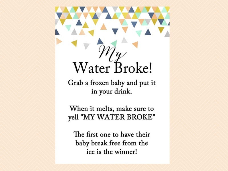 my water broke frozen baby melt the baby ice cube game