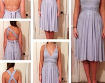 Multiway Soft Drape Bridesmaid Dress