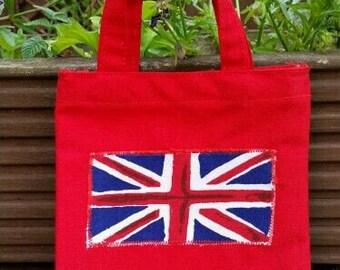 Small Union Jack gift bag