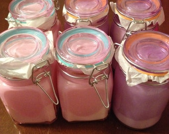 Citronella soy candles