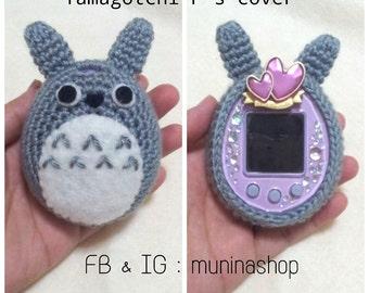 Buy 2 get 1 !!!! Totoro tamagotchi cover/ Totoro cover / Tamagotchi crochet cover / Tamagotchi case