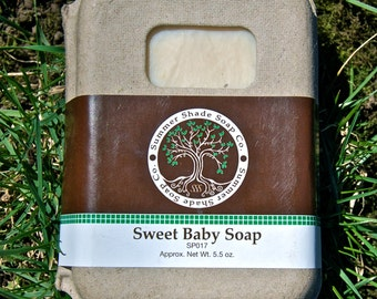 Sweet Baby Soap - VEGAN
