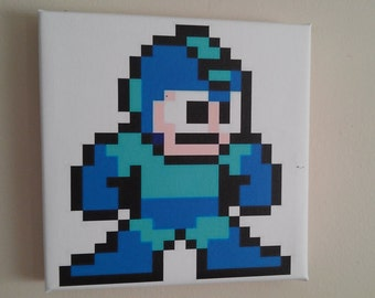 NES 8bit canvas MegaMan