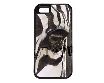 Zebra Eye Phone Case for iPhone 5/5S, iPhone 6, and Samsung Galaxy S5