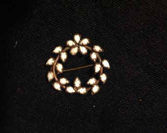 Wordl War I - Copper brooch