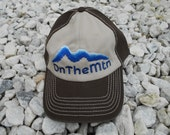 OnTheMtn Hat - Dark Brown and Khaki