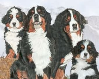 """Shop """"bernese mountain dog"""" in Collectibles"""