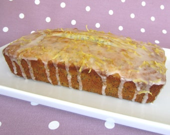 Gluten Free Lemon And Poppy Seed Loaf Cake