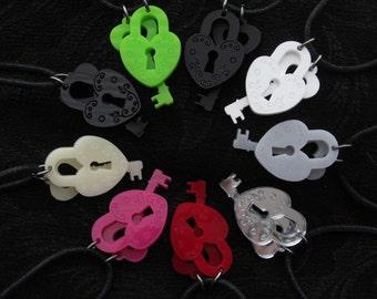 Lock Key necklace