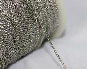 1,50 mm maillons chaîne en laiton chaîne collier - chaînes de cheville - corps - chaînes en laiton