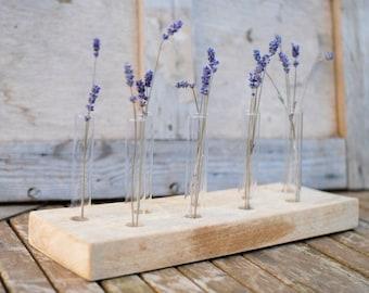 single bud vase large test tubes