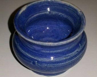 Adorable Tiny Blue Pot