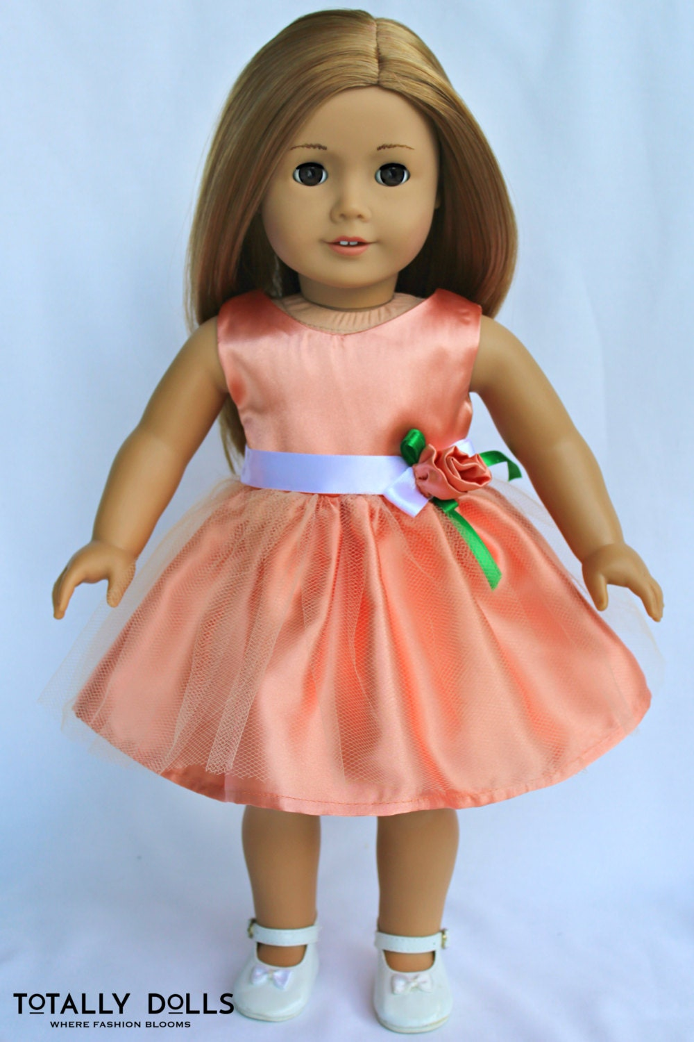 18-inch Girl Doll Clothes Summer Formal Dress to