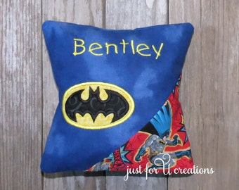 Batman bat pillow etsy for Batman fairy door