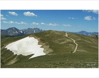 Colorado Rocky Mountains, Missouri Mountain, Sawatch Mountain Range, Rockies, Snow, Rugged, Terrain, High Country, Distant Peaks, Jeep