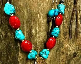 Beautiful Chunk Cowgirl Necklace