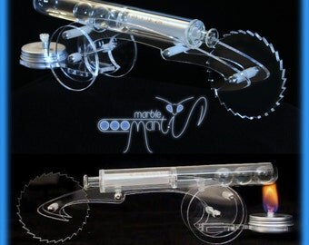 Marble Mantis Hot air Stirling engine car science model (Not Steam)