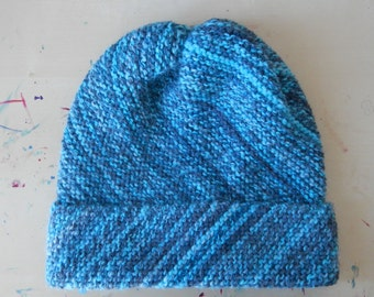 Blue Frost Beanie