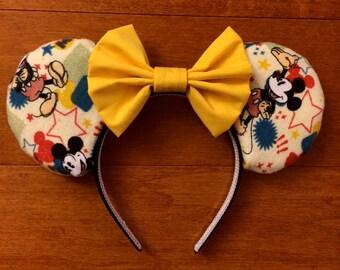Classic Mouse Ears, Custom Mouse Ears