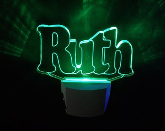 Personalized Night light - Names