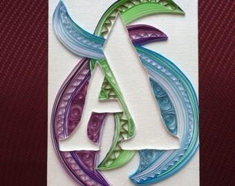 Custom Monogram Letter