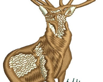 Deer - Machine Embroidery File Instant Download