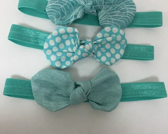 Sale: Robin egg blue bows
