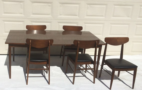 Mid century 1950s stanley furniture dining room by for Stanley furniture dining room sets