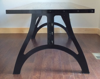 "The ""Arcus"" Industrial Dining Table"