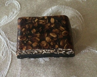 Coffee And Oatmeal Soap