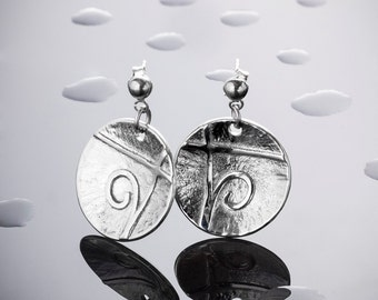Silver earrings for women UMAH108A