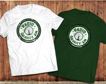 Retro T Shirt, Vintage 50's feel radio logo, music rockabilly, music pop culture